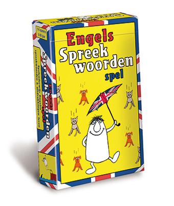 Engels spreekwoordenspel doosje
